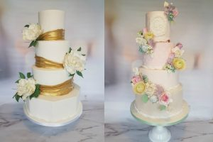 Vegan wedding cakes from Baking Beautiful Kent