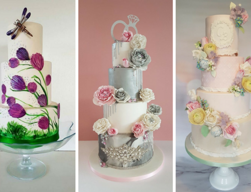 Baking Beautiful Hand-Painted Wedding Cakes